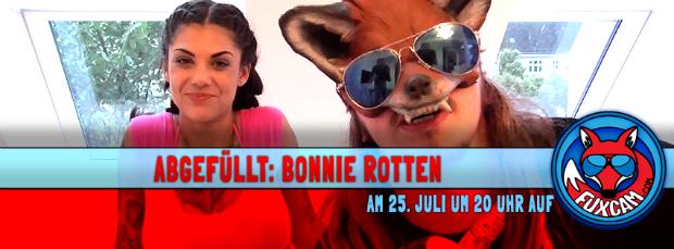 Bonnie Rotten und der Fux <3