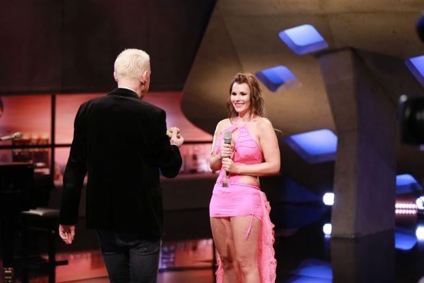 Jurymitglied H.P. Baxxter mit Aische aus Berlin Verwendung der Bilder für Online-Medien ausschließlich mit folgender Verlinkung:'Alle Infos zu 'Deutschland sucht den Superstar' im Special bei RTL.de: http://www.rtl.de/cms/sendungen/superstar.html